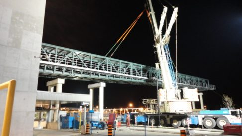 Burlington GO Transit Overpass Project